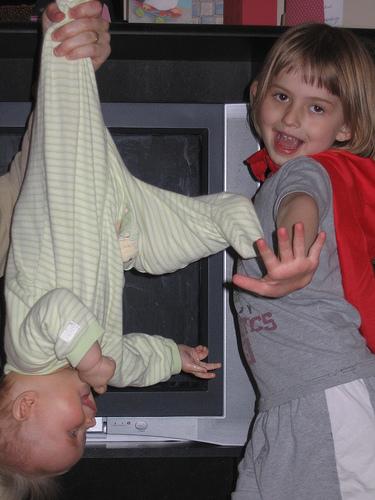 hovering baby with super ninja kick blog carnival Hovering Baby with Super Ninja Kick Blog Carnival