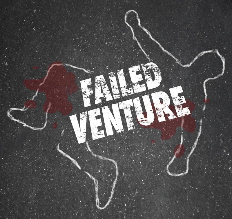failed startup