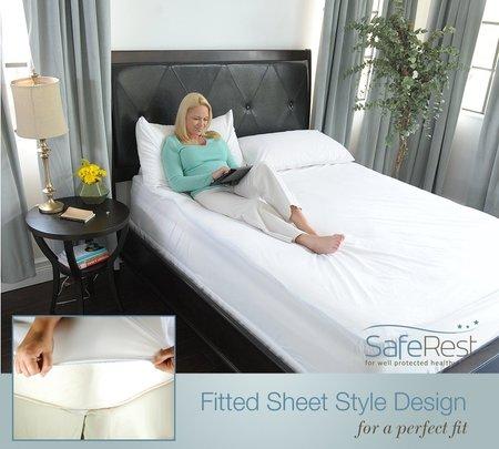 saferest hypoallergenic waterproof queen size vinyl free mattress protector The Best Mattress Protector To Protect Your Sleep